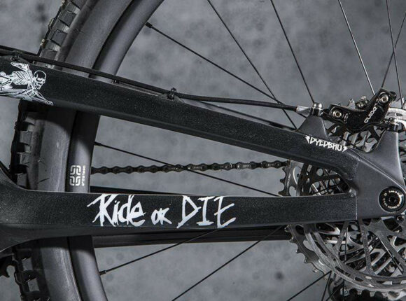 Ramskydd DYEDBRO Ride Or Die White