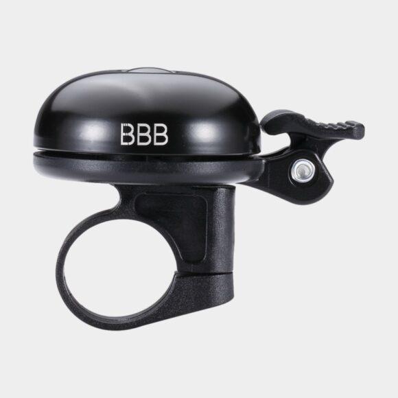 Miniringklocka BBB E Sound Ø45 mm, aluminum, svart