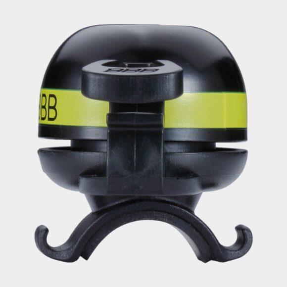 Miniringklocka BBB EasyFit Deluxe Ø32 mm, mässing, svart/gul