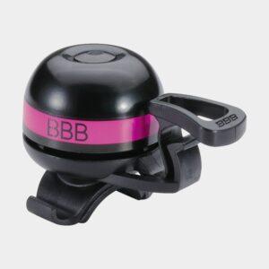 Ringklocka BBB EasyFit Deluxe Ø32 mm, mässing, svart/magenta