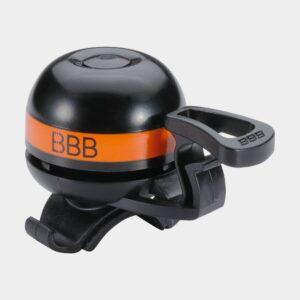 Ringklocka BBB EasyFit Deluxe Ø32 mm, mässing, svart/orange
