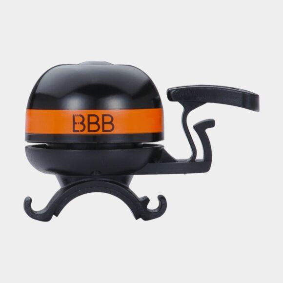 Miniringklocka BBB EasyFit Deluxe Ø32 mm, mässing, svart/orange