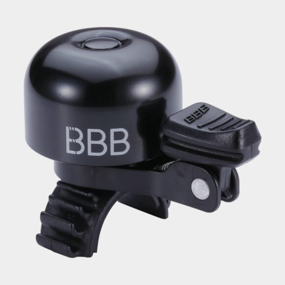 Miniringklocka BBB Loud & Clear Deluxe, Ø32 mm, mässing, svart