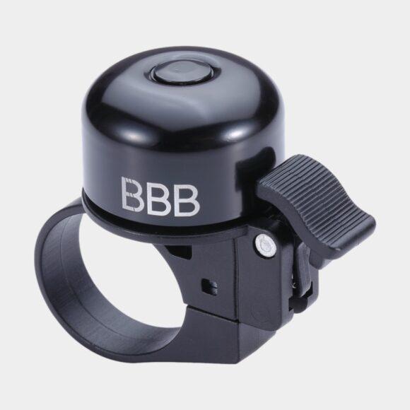 Ringklocka BBB Loud & Clear, Ø32 mm, aluminum, svart