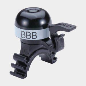 Miniringklocka BBB MiniFit, Ø23 mm, mässing, svart/vit