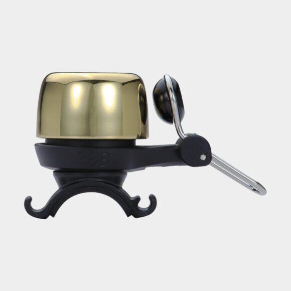 Miniringklocka BBB Noisy, Ø28 mm, mässing, guld