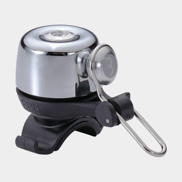 Miniringklocka BBB Noisy, Ø28 mm, mässing, silver