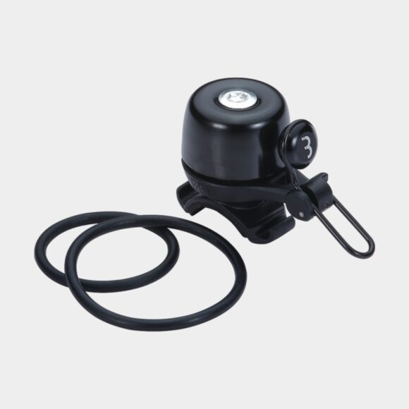 Miniringklocka BBB Noisy, Ø28 mm, mässing, svart