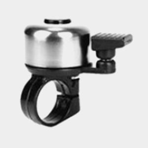 Ringklocka Sirena, Ø33 mm, aluminium, svart