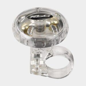 Ringklocka XLC DD-M12, Ø36 mm, mässing, silver