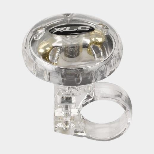 Miniringklocka XLC DD-M12, Ø36 mm, mässing, silver