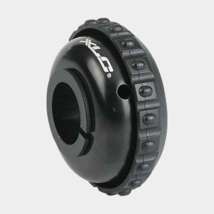 Ringklocka XLC DD-M17, Ø53 mm, plast, svart