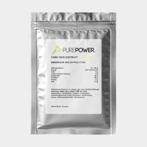 Sportdryck PurePower Carbo Race Electrolyte Elderflower, 50 gram