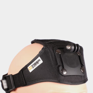 Pannlampsfäste M-Tiger Headstrap Pro till S.A.S / S.E.A.L, GoPro-kombatibelt + tumskruv