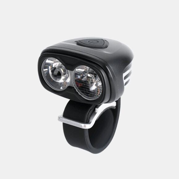 Framlampa Boruit ULTRA 960 + hjälmfäste + pannband + förlängningskabel