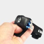 Pannlampa Lumixell Atom + AAA-batterier 3-pack