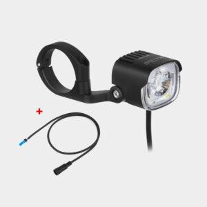 Elcykelframlampa Magicshine ME 1000 + anslutningskabel för Shimano