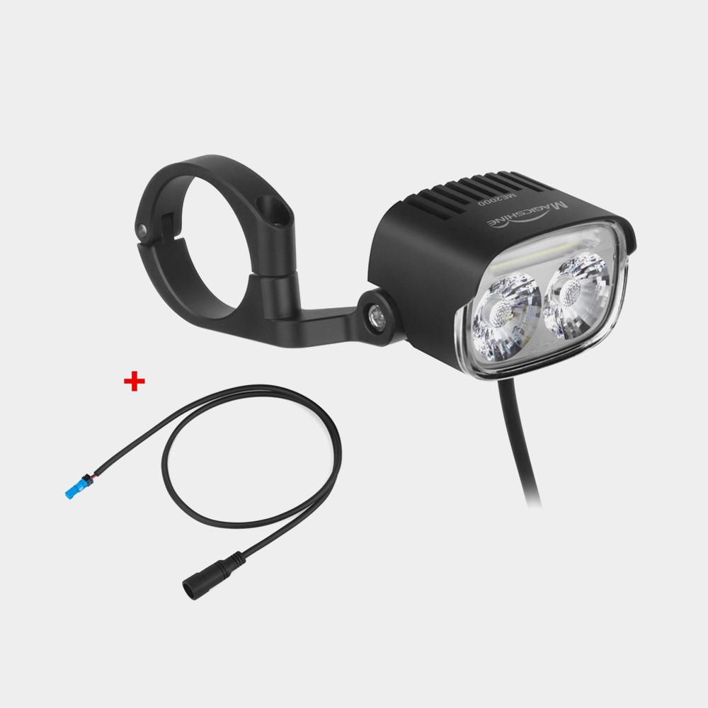 Elcykelframlampa Magicshine ME 2000 + anslutningskabel för Bosch