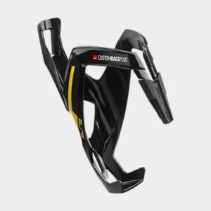 Flaskhållare Elite Custom Race Plus 20, plast, svart/gul