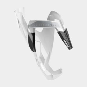 Flaskhållare Elite Custom Race Plus, plast, vit/svart
