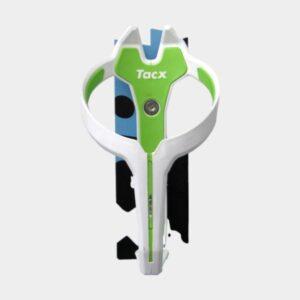 Flaskhållare Tacx Foxy, plast, svart/grön