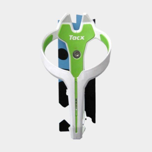 Flaskhållare Tacx Foxy, plast, vit/grön
