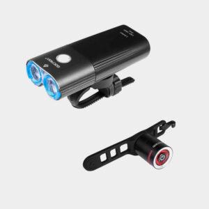 Lampset Gaciron Speed X 1800 / Powerglow + fjärrkontroll