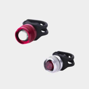 Lampset Ruby Diamond Safety Light White / Safety Light Red
