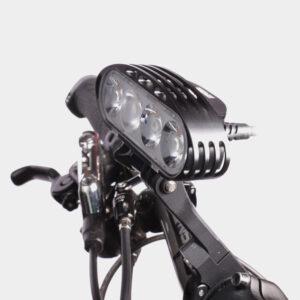 Hjälmlampa M-Tiger Hyperion II + pannband + styrfäste