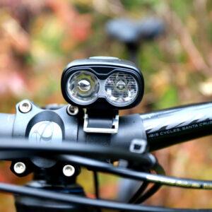 Lampset Boruit ULTRA 960 / Machfally Force 400  + hjälmfäste + pannband + förlängningskabel