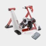 Cykeltrainer Elite Novo Force Deluxe Pack, rulle mot bakhjul + Sensor Misuro B+