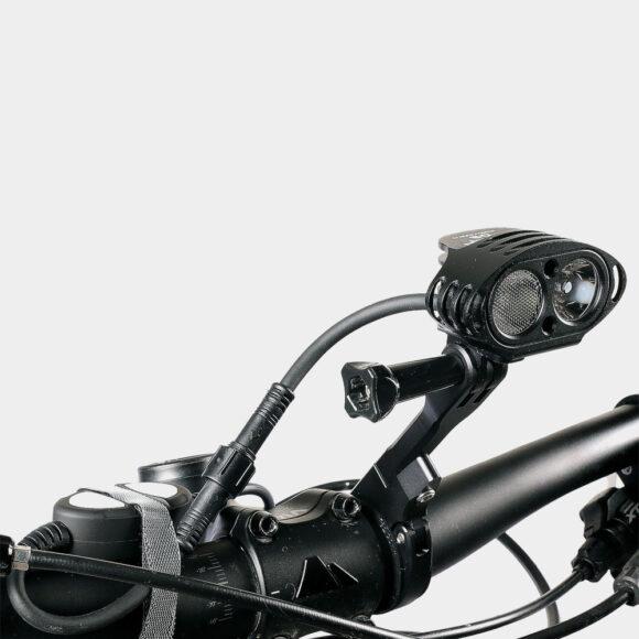 Framlampa M-Tiger DS II + pannband + hjälmfäste