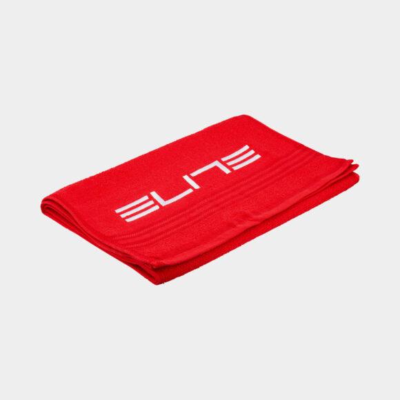 Handduk Elite Zugaman, 130 x 30 mm, röd/vit